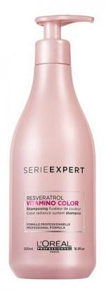 Serie Expert Vitamino Color Resveratrol Shampoo 500 ml