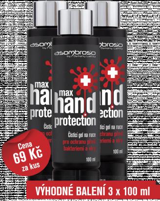 Max Hand Protection 100 ml, 3 kusy