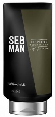 Seb Man The Player Medium Hold Gel