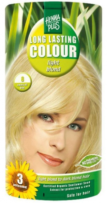 Long Lasting Colour Light Blond 8