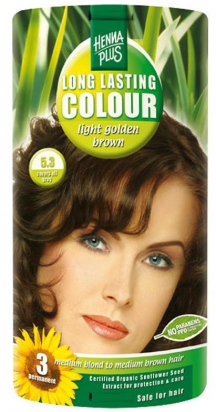 Long Lasting Colour Light Golden Brown 5.3