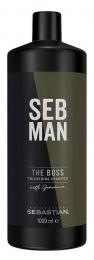Seb Man The Boss Thickening Shampoo MAXI