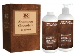 Intensive Repair Chocolate Shampoo 2 x 550 ml
