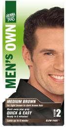 Men´s Own Medium Brown