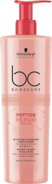 BC Bonacure Peptide Repair Rescue Micellar Cleansing Conditioner