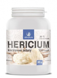 Hericium Korálovec ježatý kapsle 100 kps.