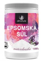 Epsomská sůl Mateřídouška 1000 g